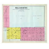 1892, Millersburg, Illinois, United States Giclee Print