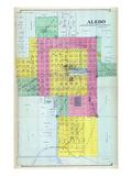 1892, Aledo, Illinois, United States Giclee Print