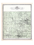 1905, Wasioja Township, Dodge Center, Cheney, Minnesota, United States Giclee Print