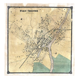 1867, Port Chester, New York, United States Giclee Print