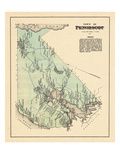 1881, Penobscot Town, Maine, United States Giclee Print