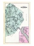 1880, Fryeburg Town, Rumford, Rumford Point, Maine, United States Giclee Print
