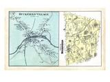 1880, Buckfield Town, Buckfield Village, Maine, United States Giclee Print