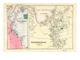 1873, Port Jefferson, Stony Brook, Brookhaven Town, New York, United States Giclee Print