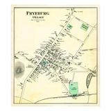 1880, Fryeburg Village, Maine, United States Giclee Print