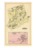 1880, Lovell Town, Lovell Village, Maine, United States Giclee Print
