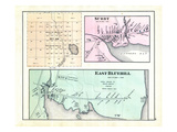1881, Hancock County Township 39, Surry Villiage, Blue Hill East, East Blue Hill, Maine, United Sta Giclee Print
