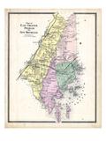 1867, Chester East, Pelham & New Rochelle, New York, United States Giclee Print