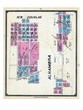 1892, New Douglas, Alhambra, Illinois, United States Giclee Print