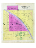 1899, Howells, Bushville, Nebraska, United States Giclee Print