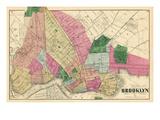 1873, Brooklyn, New York, United States Giclee Print
