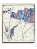 1892, Venice, Mississippi River, Illinois, United States Giclee Print