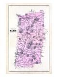 1880, Paris Town, Maine, United States Giclee Print