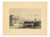 1840, New Haven View, Connecticut, United States Giclee Print