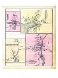 1882, Abbot Village, Greenville Village, Medford Center, Sangerville Village, Maine, United States Giclee Print