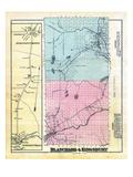 1882, Atkinson Corner and Atkinson Mills, Atkinson Mills and Atkinson Corner, Blanchard, Kingsbury Giclee Print