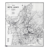 1955, Butte County 1955c, California, United States Giclee Print