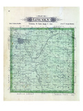 1899, Lincoln Township, Howells, Oleyen, Nebraska, United States Giclee Print