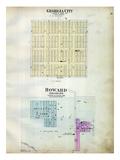 1905, Georgia City, Howard, Zincite, Missouri, United States Giclee Print