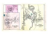 1880, Paris Village West, Paris Hill Village, Paris Village South, Maine, United States Giclee Print