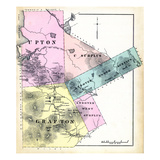 1880, Grafton, Upton, Andover North Surplus, Andover West Surplus, Maine, United States Giclee Print