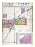 1912, Hillsboro - East, Schram City, Kortkamp, Illinois, United States Giclee Print