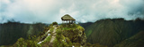 Small Hut on a Mountain Top, Machu Picchu, Cusco Region, Peru Photographic Print by  Panoramic Images