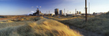 Sand Dunes Near a Steel Industry, Redcar Steelworks, South Gare, Redcar, Cleveland, England Photographic Print by  Panoramic Images