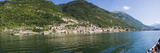 Town at the Waterfront, Sala Comacina, Lake Como, Como, Lombardy, Italy Photographic Print by  Panoramic Images
