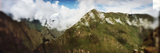 Clouds over Mountains, Andes, Machu Picchu, Cusco Region, Peru Photographic Print by  Panoramic Images