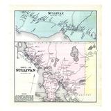 1881, Sullivan, Maine, United States Giclee Print