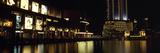 City Lit Up at Night, Burj Khalifa, Dubai Creek, Dubai, United Arab Emirates Photographic Print by  Panoramic Images