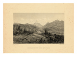 1859, Franconia Notch View, New Hampshire, United States Giclee Print