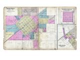 1912, Nokomis, Zanesville, Ohlman, Illinois, United States Giclee Print