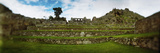 Ruins of Buildings at an Archaeological Site, Inca Ruins, Machu Picchu, Cusco Region, Peru Photographic Print by  Panoramic Images