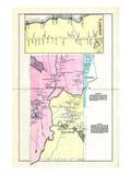 1881, Lamoine, Mariaville, Walthan, Maine, United States Giclee Print