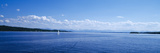 Lake with Mountains in the Background, Starnberger See, Lake Starnberg, Bavaria, Germany Photographic Print by  Panoramic Images