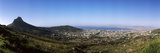 High Angle View of a City, Cape Town, Western Cape Province, South Africa Photographic Print by  Panoramic Images