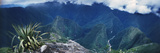 High Angle View of Mountains, Machu Picchu, Cusco Region, Peru Photographic Print by  Panoramic Images