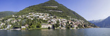 Town at the Waterfront, Carate Urio, Lake Como, Como, Lombardy, Italy Photographic Print by  Panoramic Images