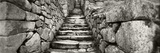 Ruins of a Staircase at an Archaeological Site, Inca Ruins, Machu Picchu, Cusco Region, Peru Fotodruck von  Panoramic Images