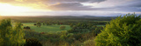 Trees on a Landscape Viewed from Duncton Hill, South Downs National Park, West Sussex, England Photographic Print by  Panoramic Images