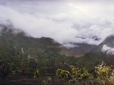 Clouds over Mountains, Andes, Cusco Region, Peru Photographic Print by  Panoramic Images