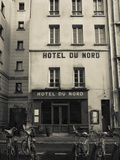 Facade of a Hotel, Hotel Du Nord, Canal Saint-Martin, Paris, Ile-De-France, France Photographic Print by Green Light Collection