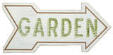Garden Arrow Wood Sign Wood Sign