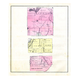 1881, Hancock County Townships 7 8, Goldsborough, Maine, United States Giclee Print