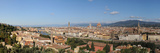 City Viewed from Piazzale Michelangelo, Giardino Vegni, Florence, Tuscany, Italy Photographic Print by  Panoramic Images