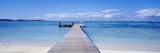 Jetty on the Beach, Mauritius Reproduction photographique par  Panoramic Images