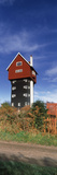 Low Angle View of a Water Tower, House in the Clouds, Thorpeness Windmill, Thorpeness, Suffolk, ... Photographic Print by  Panoramic Images