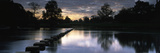 Stepping Stones on the River, River Wharfe, Bolton Abbey, Wharfedale, North Yorkshire, England Photographic Print by  Panoramic Images